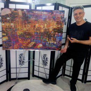 Henrique Vieira Filho homenageia a Cidade de São Paulo