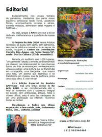 Editorial – Revista Artivismo – V 1 – Nº 1 /2020