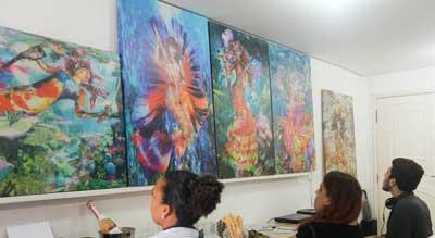 """O movimento da Slow Art (""""arte sem pressa"""") não se trata apenas de olhar continuamente para as pinturas."""